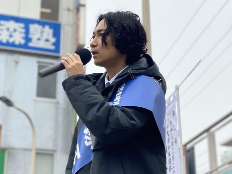 千葉県知事選挙 国民主権党 平塚正幸